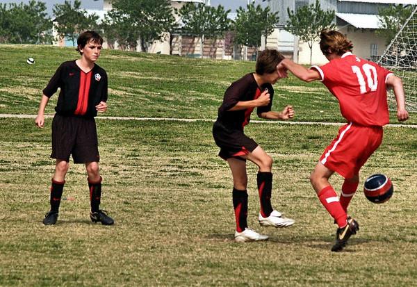 Lonestar Soccer vs DTA 3.29.2008