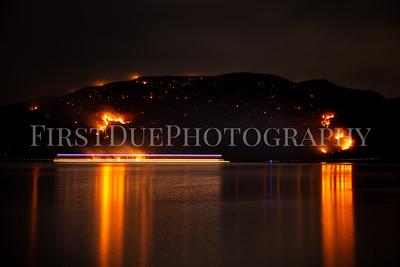 Breakneck Ridge Brush Fire Beacon, NY 9 Mar 20