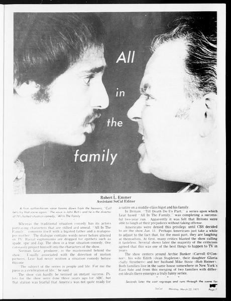 SoCal, Vol. 62, No. 93, March 22, 1971