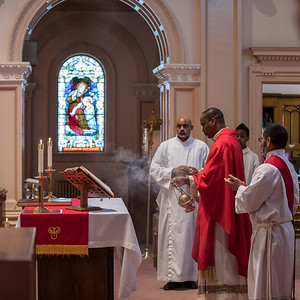 St. Justin-St. Michael Palm Sunday Mass & Procession