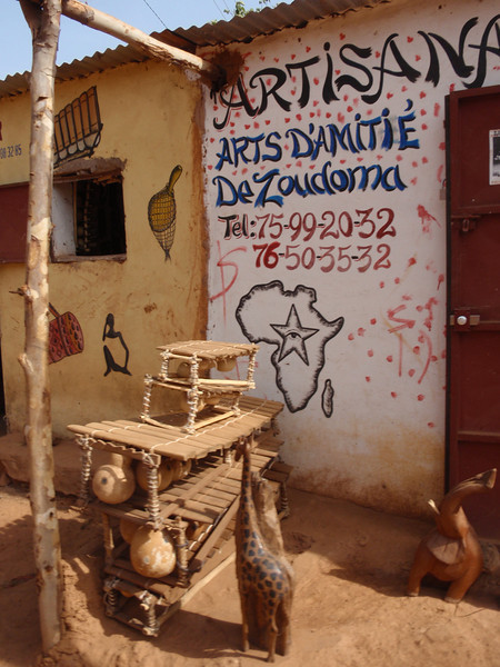 040_Bobo-Dioulasso. The Old Quarter of Kibidwe. Craft Shop.jpg