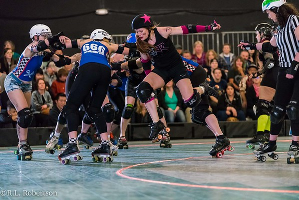 Sockit Wenches vs RCR Guns N Rollers