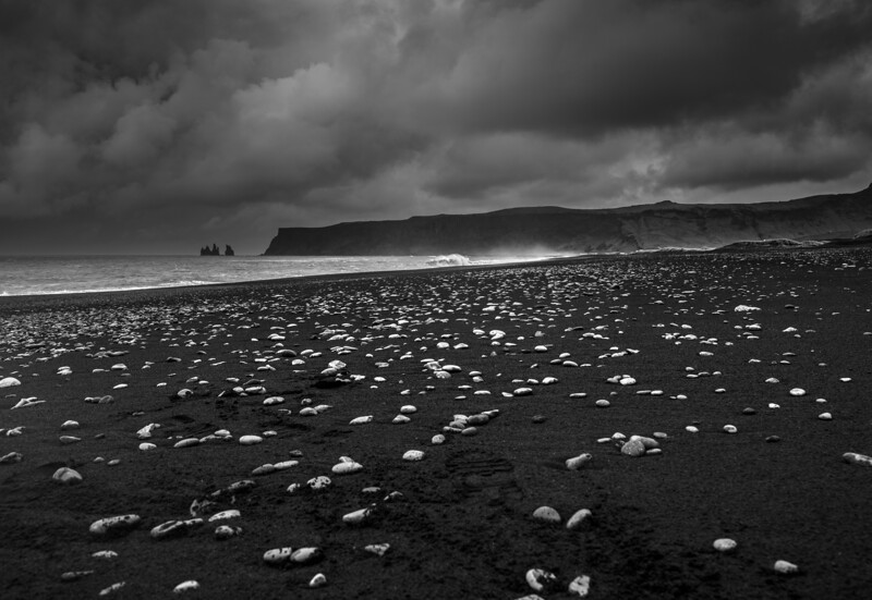 Nugget Ice    Black & white Photography by Wayne Heim