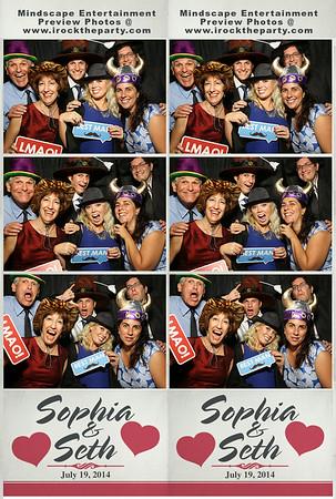 Sophia & Seth's Wedding - Photo Booth Pictures