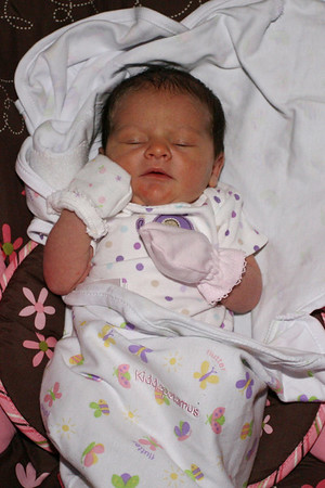 Brooklyn at home 3 days old