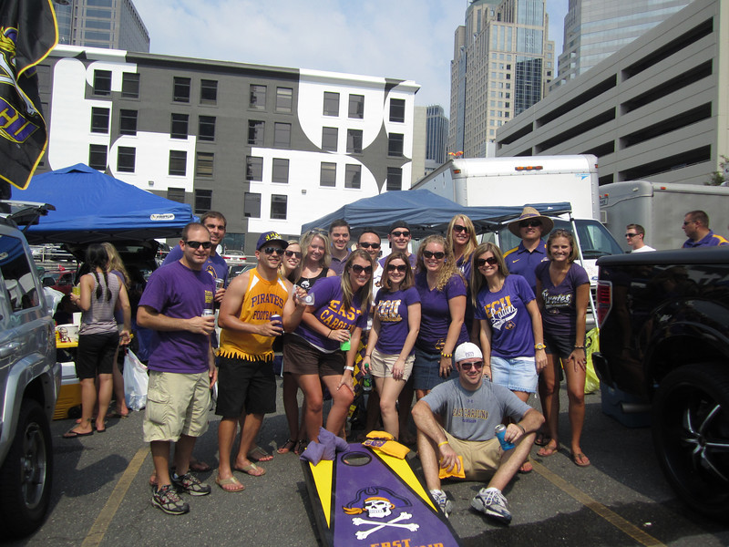 9/3/2011 ECU vs South Carolina  Jon, Tom, Steve, Erin, Brittany, Kevin, Laura Ashley, Chris, Heather, Warren, Lauren, Staci, Preston, Jen, JG, Stephanie