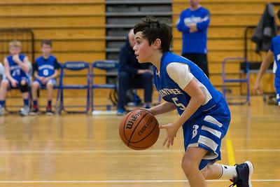 2/11/18 6A Boys Basketball:  Braintree vs Scituate
