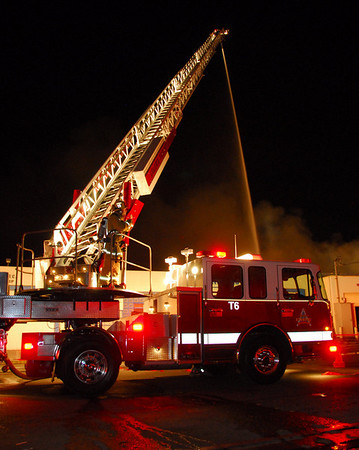 Anaheim 4th Alarm Commercial Structure Fire, South Rose Street