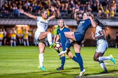 8-19-16 Michigan Women's Soccer Vs Pittsburgh