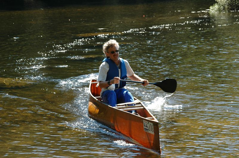 JJ races for the canoe launch   (Sep 12, 2004, 11:06am)