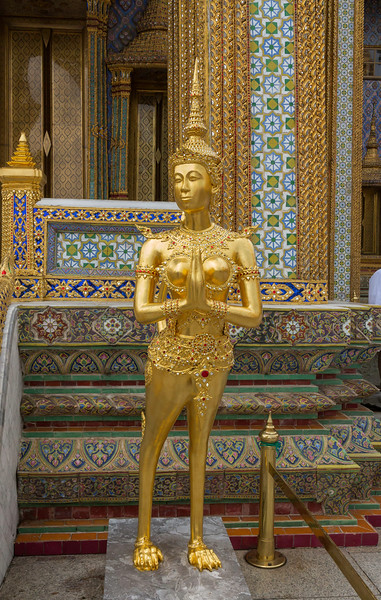 Deity at the Royal Palace.