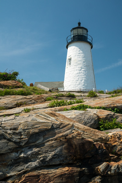 Pemaquid Point - Lighthouse and Rocks