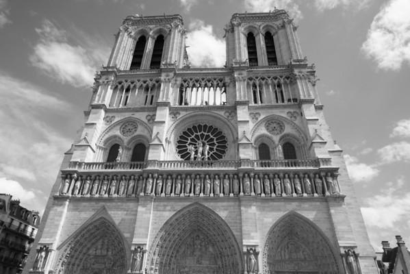 Notre Dame, Paris, July 2010