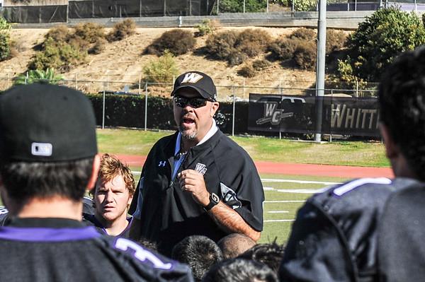 2012 Whittier College Coaches