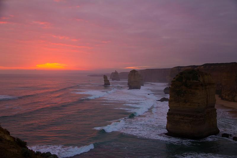 12 Apostles during sunset