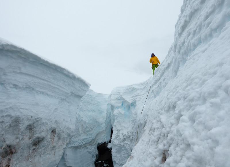 Zac at the edge