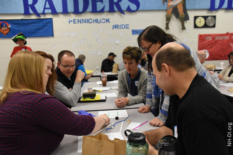 New Appraisers learn the first part of Instant Challenges: Collaboration, Teamwork, Communication takes work...