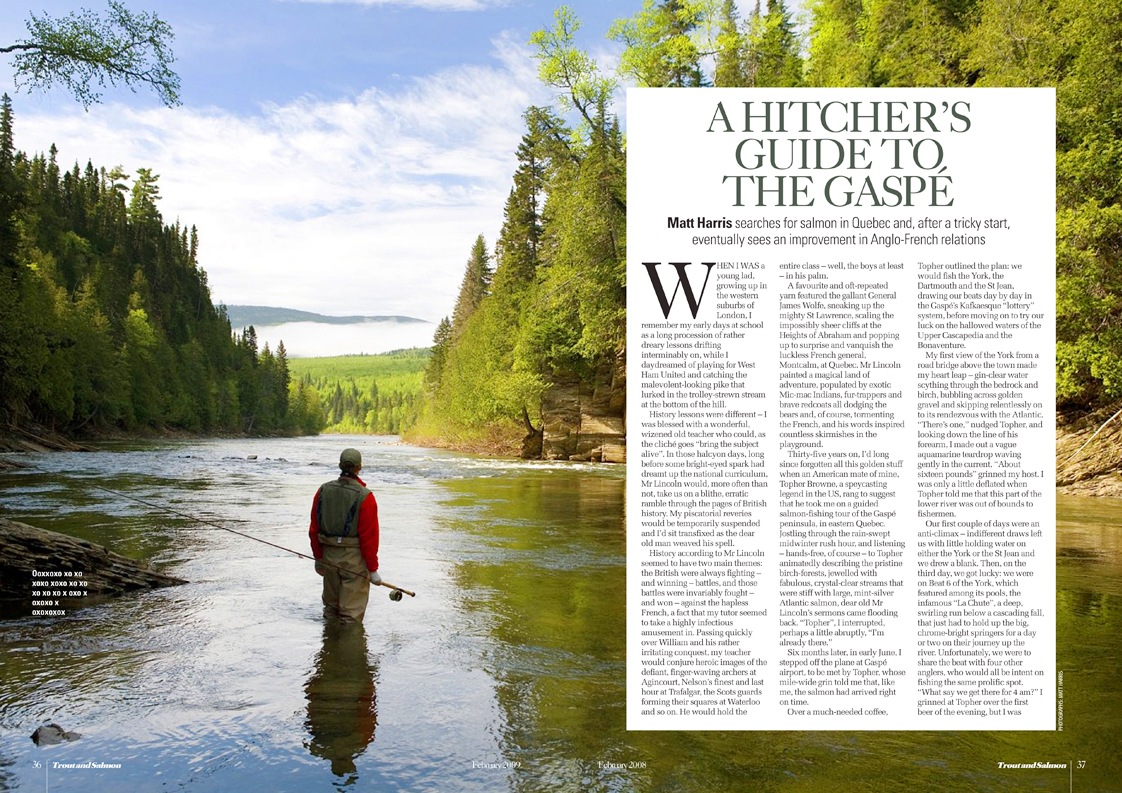 """Trout and Salmon is the genuine British Classic - a true institution in British Flyfishing. Subscribe at <a href=""""http://www.greatmagazines.co.uk/fishing/trout-and-salmon-magazine.html"""">http://www.greatmagazines.co.uk/fishing/trout-and-salmon-magazine.html</a>"""