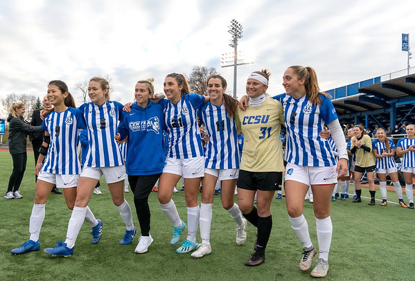 CCSU Women's Soccer 11-11-19