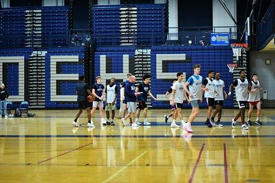 OE Boys Basketball Practice 2020