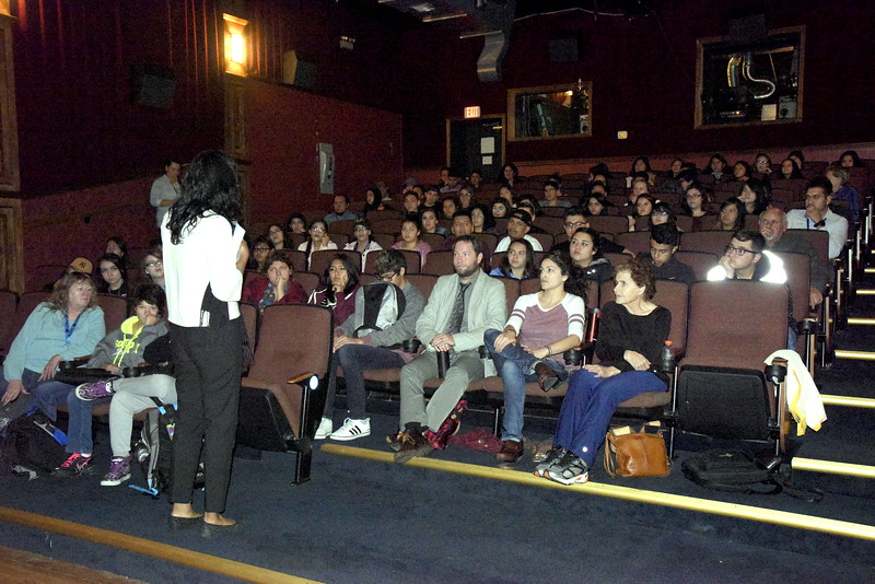 CHS Students at Dolores Huerta Screening
