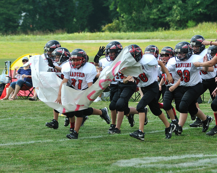 2010 Lancers Football - Liberty 9-11  Games 1 & 2