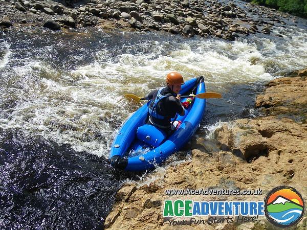 7th July 2013 canoe kayak middle Findhorn