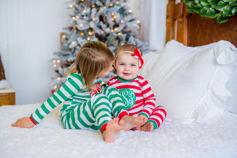Ellie + Mary Parker: Christmas PJs