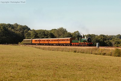 Re-opening train - August 2020