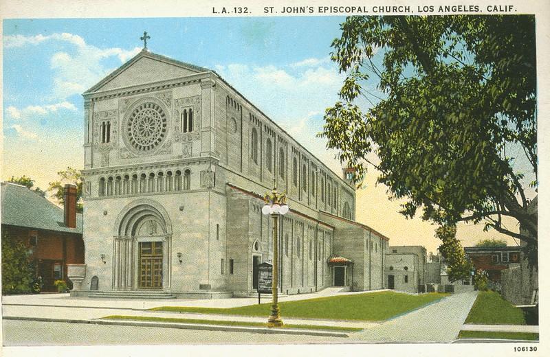 St. John's Episcopal Church, Los Angeles, California.