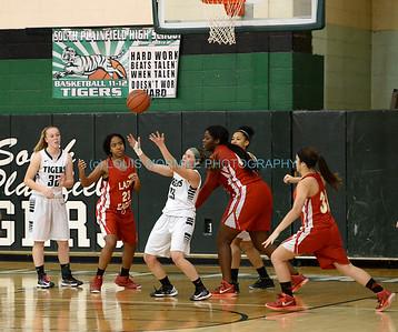 SPHS Girls Varsity Basketball vs. Edison High School 1-10-2015