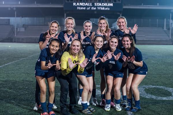 2019 Girls Varsity Soccer vs. Churchill-State Semifinals