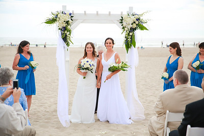 Emily + Sarah Married at Sea Venture in Pismo Beach