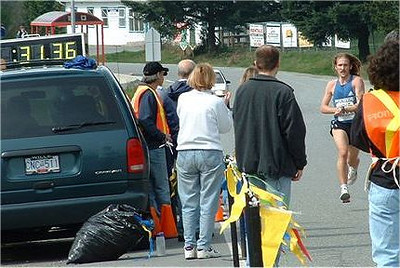 2003 Sooke River 10K - Steve O breaks his own course record