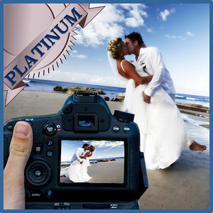31105 Professional wedding day photography Platinum