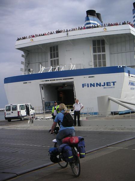 22 - So 21.8.05: Tallinn - Rostock (Schiff)