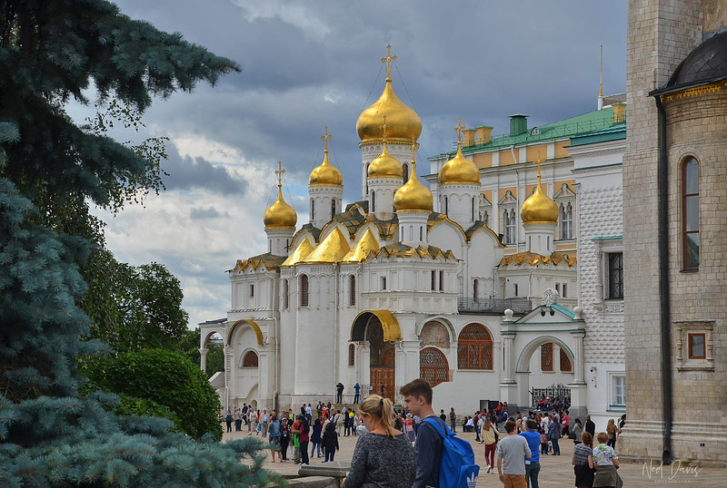 The Annunciation Cathedral, Cathedral Square, Kremlin