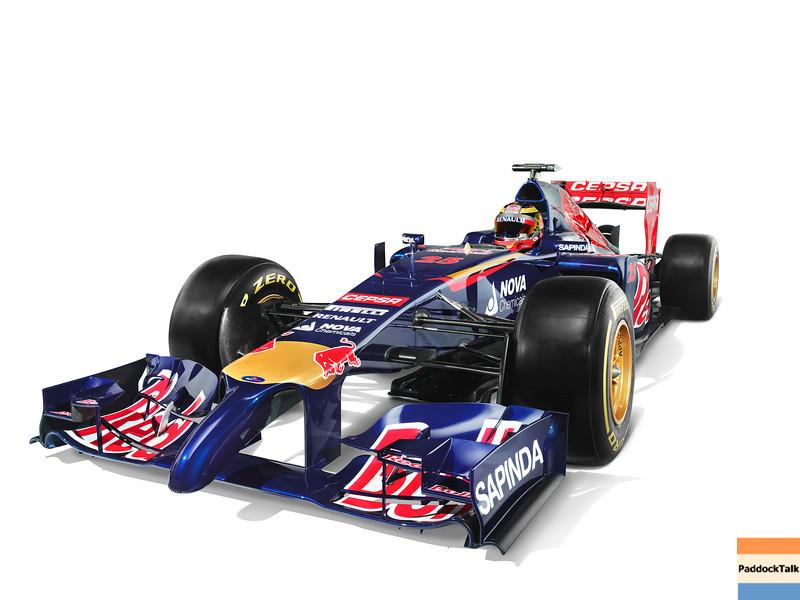 2014 Toro Rosso Formula One F1 STR9