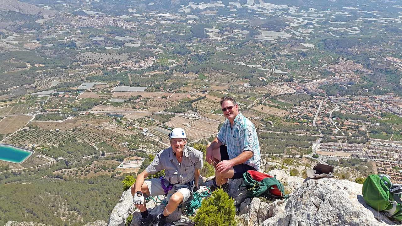 On the Ponoch Head climb
