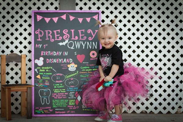 Presley Qwynn 12th month
