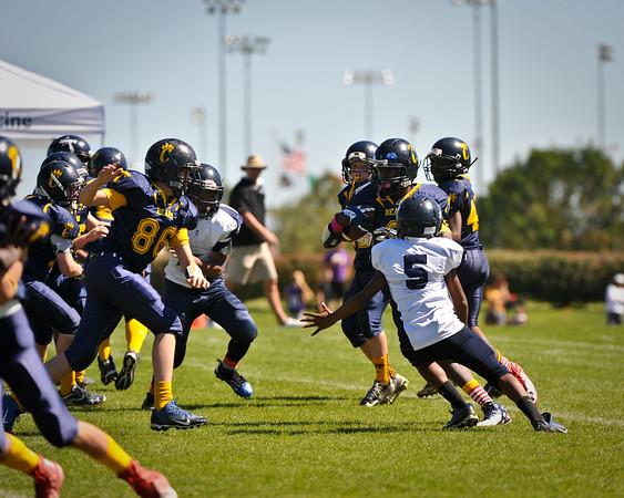 Chesterfield Bears vs Cowboys 7th Grade 9/21/14