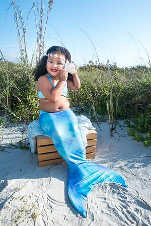 Ryleigh 5th Birthday Mermaid Session