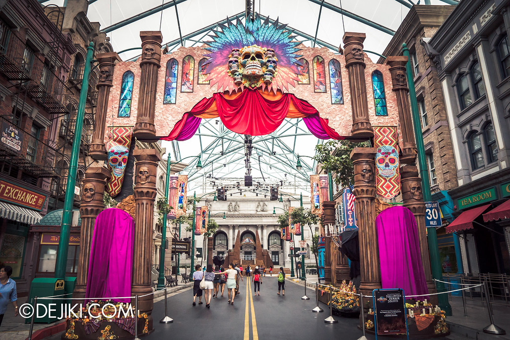 Universal Studios Singapore - Halloween Horror Nights 6 Before Dark Day Photo Report 2 - March of the Dead gateway