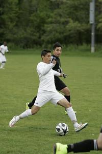 Ottumwa High School Boys Varsity Soccer 05112015