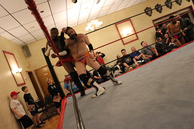 Osirus & Calvin Campbell with Doc Ozone vs. Middlesex Express