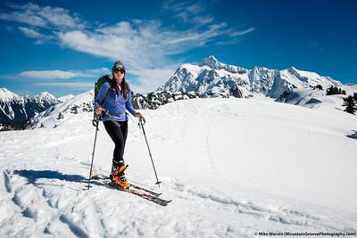 2016 - Mt Baker Ski w Annie