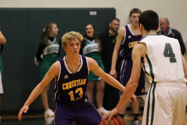 Basketball Boys vs. Hackett - 1/23/15 - KCHS