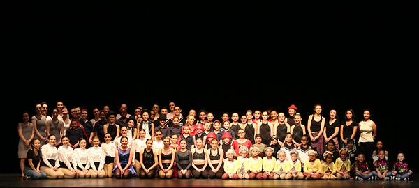 group picture of dancers