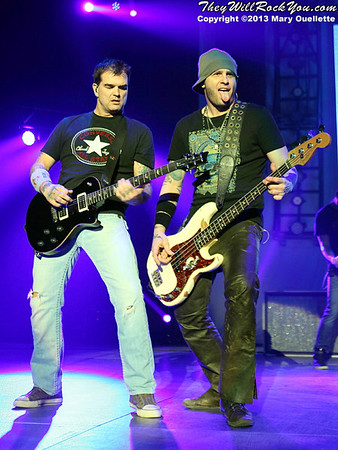 3 Doors Down <br> February 11, 2013 <br> DCU Center - Worcester, MA <br> Photos by: Mary Ouellette