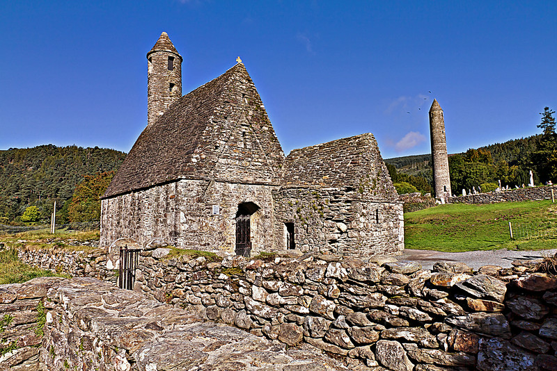 St Kevin's Kitchen and Round Tower